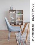 dining room with scandinavian... | Shutterstock . vector #1029449779