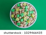 clover shaped marshmallow... | Shutterstock . vector #1029466435
