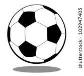 soccer ball for football ... | Shutterstock .eps vector #102947405