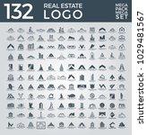 mega set and big group  real... | Shutterstock .eps vector #1029481567