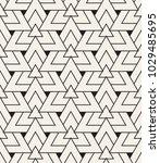 vector seamless pattern. modern ... | Shutterstock .eps vector #1029485695
