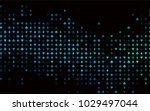 dark blue  green vector... | Shutterstock .eps vector #1029497044