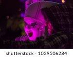 spark drummers at light up... | Shutterstock . vector #1029506284