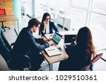 professional group of managers...   Shutterstock . vector #1029510361