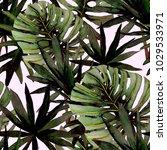 watercolor seamless pattern... | Shutterstock . vector #1029533971