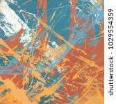 abstract painting. ink handmade ...   Shutterstock . vector #1029554359