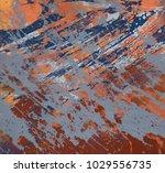 abstract painting. ink handmade ...   Shutterstock . vector #1029556735