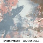 abstract painting. ink handmade ...   Shutterstock . vector #1029558061