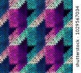 seamless geoemtric pattern.... | Shutterstock .eps vector #1029567034