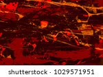 abstract painting. ink handmade ... | Shutterstock . vector #1029571951