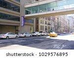 new york city  ny  18 feb 2018  ... | Shutterstock . vector #1029576895