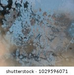 abstract painting. ink handmade ... | Shutterstock . vector #1029596071