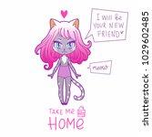 cute vector illustration....   Shutterstock .eps vector #1029602485