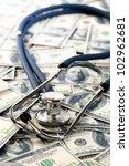 Accounting.stethoscope On Money