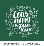 education  learning banner.... | Shutterstock .eps vector #1029656569