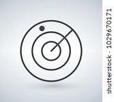 radar  screen  airport icon....   Shutterstock .eps vector #1029670171