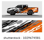 truck car and vehicle racing... | Shutterstock .eps vector #1029674581