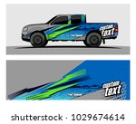 truck car and vehicle racing... | Shutterstock .eps vector #1029674614