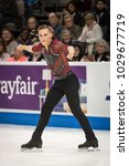 Small photo of San Jose, California/U.S.A. - January 4, 2018: Adam Rippon performs his short program at the U.S. National Figure Skating Championships.