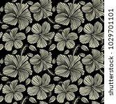 vector seamless pattern of... | Shutterstock .eps vector #1029701101