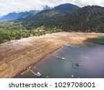 beautiful aerial landscape of... | Shutterstock . vector #1029708001