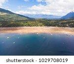 beautiful aerial landscape of... | Shutterstock . vector #1029708019