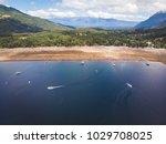 beautiful aerial landscape of...   Shutterstock . vector #1029708025