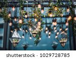 florariums with stones and... | Shutterstock . vector #1029728785