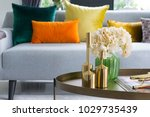 home interior decorative item... | Shutterstock . vector #1029735439