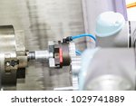 robot arm auto load and unload... | Shutterstock . vector #1029741889