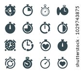 quick icons. set of 16 editable ... | Shutterstock .eps vector #1029743875