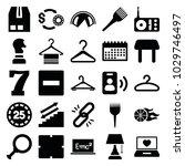 single icons. set of 25... | Shutterstock .eps vector #1029746497