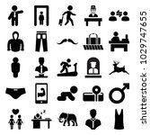 Male Icons. Set Of 25 Editable...