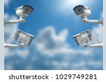 multi angle cctv system... | Shutterstock . vector #1029749281