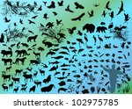 illustration with different...   Shutterstock .eps vector #102975785