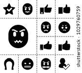 good icons. set of 13 editable... | Shutterstock .eps vector #1029760759