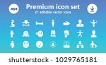 person icons. set of 21... | Shutterstock .eps vector #1029765181