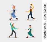 festa junina design | Shutterstock .eps vector #1029766531