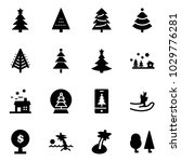 solid vector icon set  ... | Shutterstock .eps vector #1029776281