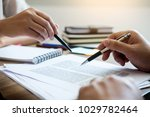 teaching helping technology... | Shutterstock . vector #1029782464