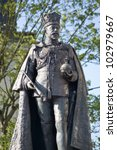 Statue Of The Former King Of...