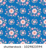 seamless pattern with... | Shutterstock .eps vector #1029823594