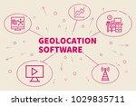 business illustration showing... | Shutterstock . vector #1029835711
