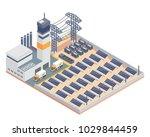 modern isometric industrial...   Shutterstock .eps vector #1029844459