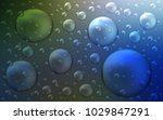 dark blue  green vector cover... | Shutterstock .eps vector #1029847291