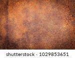 rusty metal texture background... | Shutterstock . vector #1029853651