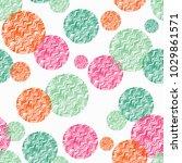 polka dot seamless pattern....   Shutterstock .eps vector #1029861571