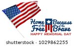memorial day  holiday   Shutterstock . vector #1029862255