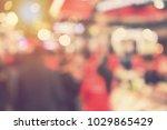 out of focus blur event... | Shutterstock . vector #1029865429