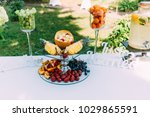 catering in wedding day | Shutterstock . vector #1029865591